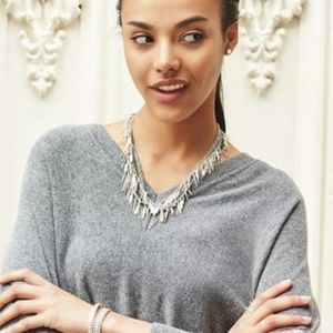 Stella & Dot Freya fringed necklace